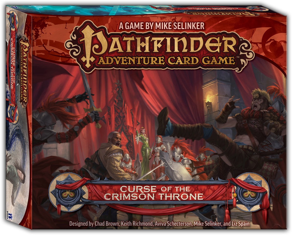 Pathfinder Adventure Card Game: Adventure Path: Curse of the Crimson Throne | Davis Cards & Games
