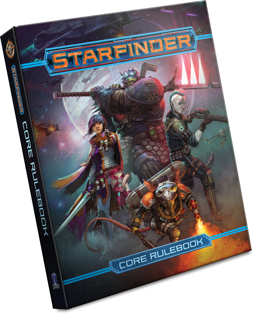 Starfinder Core Rulebook | Davis Cards & Games