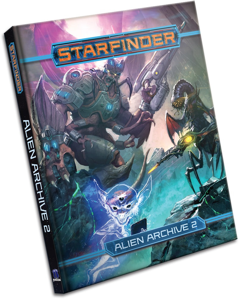 Starfinder: Alien Archive 2 | Davis Cards & Games