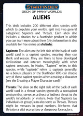 Starfinder: Deck of Many Worlds | Davis Cards & Games