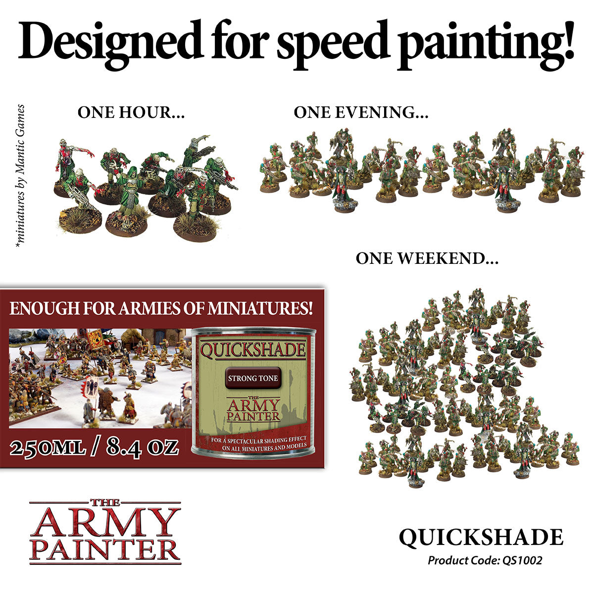 Quickshade: Strong Tone | Davis Cards & Games