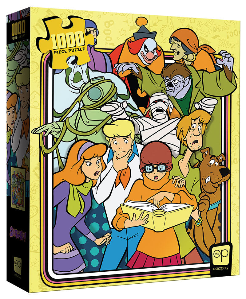 Scooby-Doo: Those Meddling Kids! 1000 Piece Puzzle | Davis Cards & Games