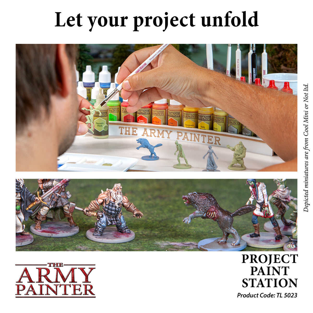 Project Paint Station | Davis Cards & Games