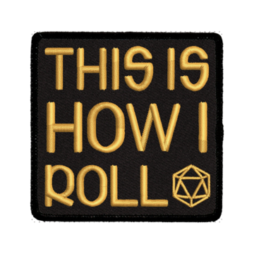 This is How I Roll - Iron-On Patch | Davis Cards & Games