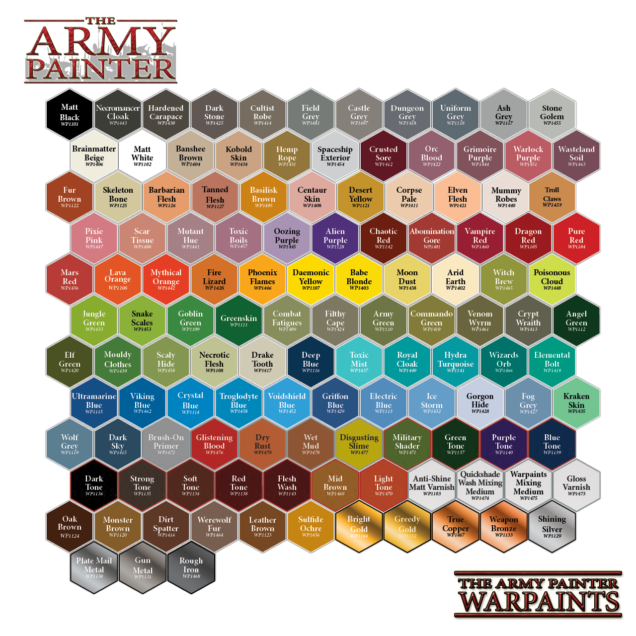 Warpaints: Arid Earth | Davis Cards & Games