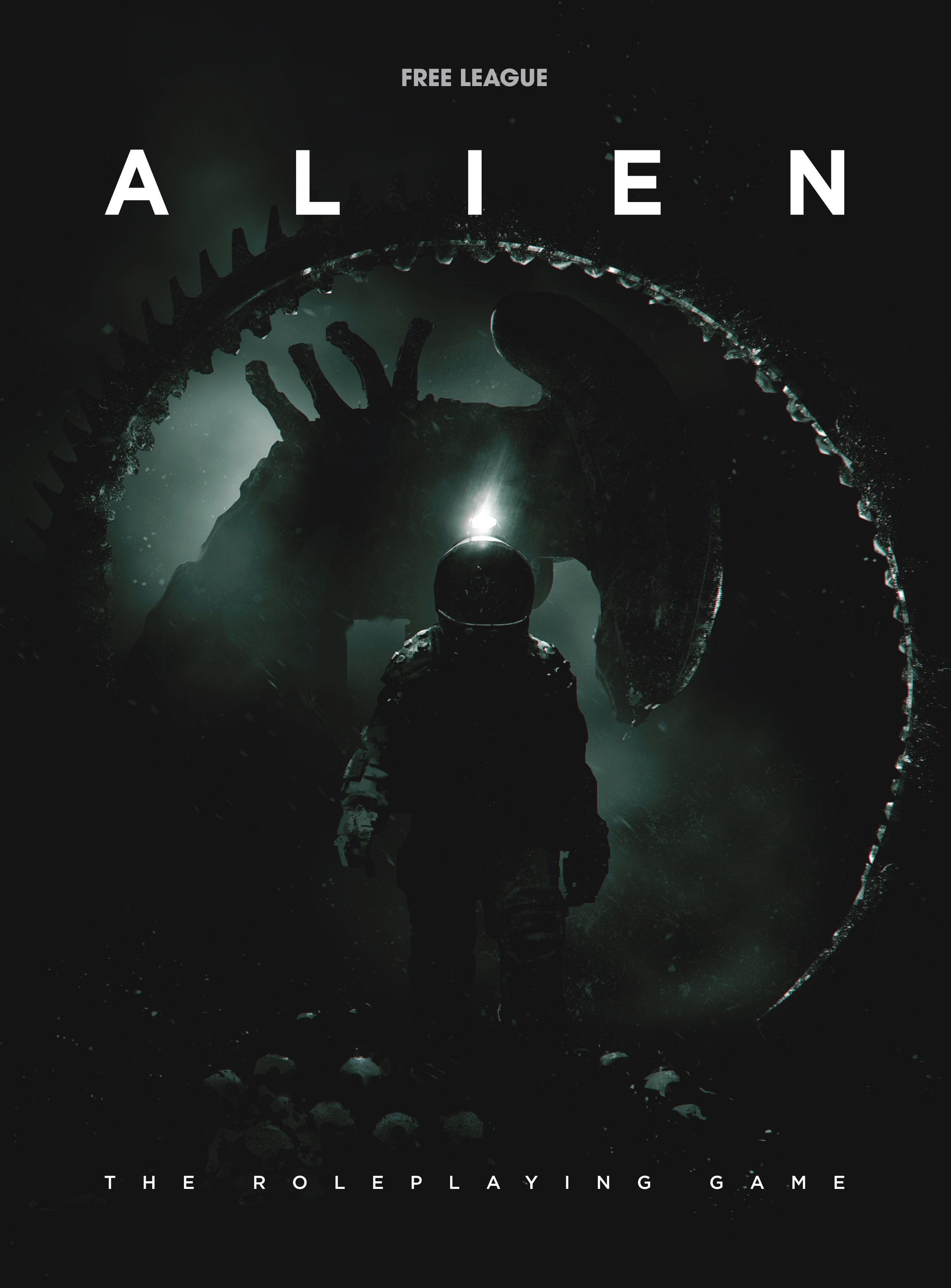 ALIEN The Roleplaying Game Core Rulebook | Davis Cards & Games