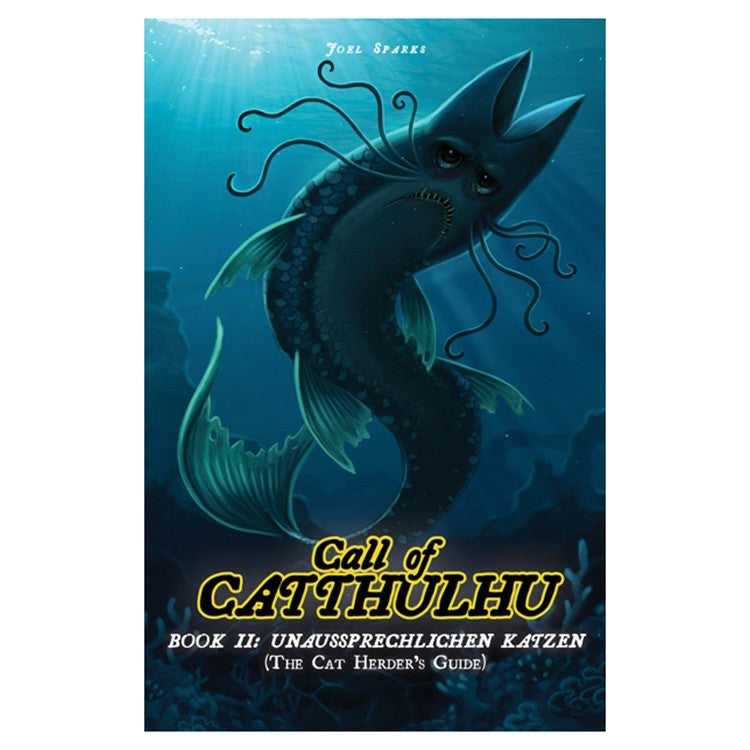 Cats Of Catthulhu Book II: Unaussprechlichen Katzen -- The Cat Herder's Guide | Davis Cards & Games
