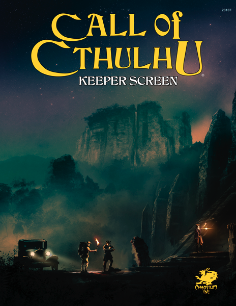 Call of Cthulhu 7th Edition: Keeper Screen Pack | Davis Cards & Games