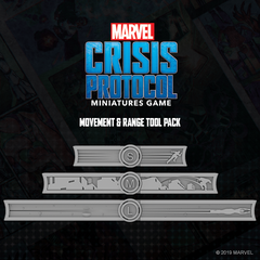 Crisis Protocol: Movement and Range Tool Pack | Davis Cards & Games