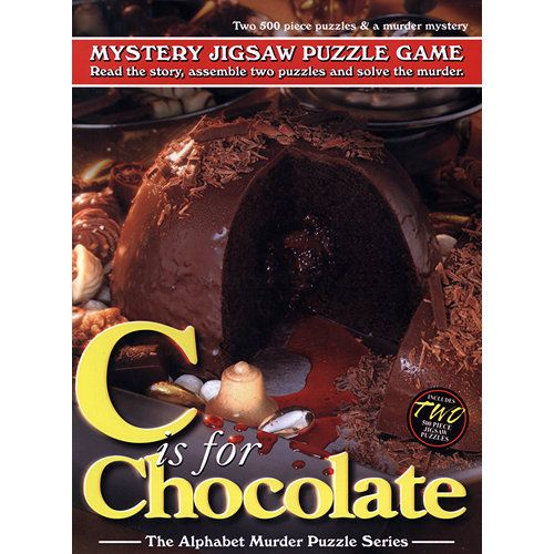 Mystery Jigsaw Puzzle Game: C is for Chocolate Puzzle | Davis Cards & Games