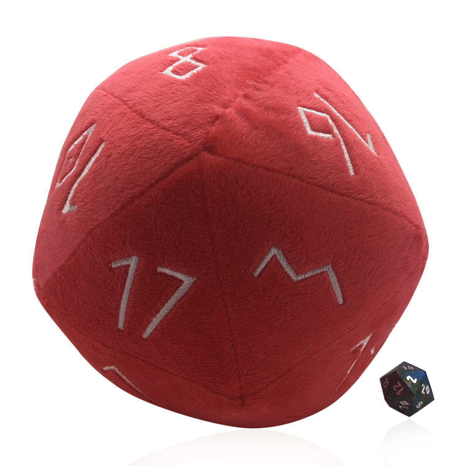 Norse Foundry: Plushie Boulder d20 Plush Soft Die | Davis Cards & Games