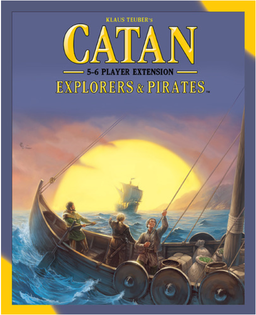 Catan: Explorers & Pirates 5-6 Player Extension | Davis Cards & Games