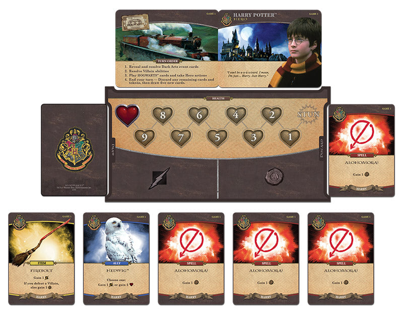 Harry Potter: Hogwarts Battle: A Cooperative Deck-Building Game | Davis Cards & Games