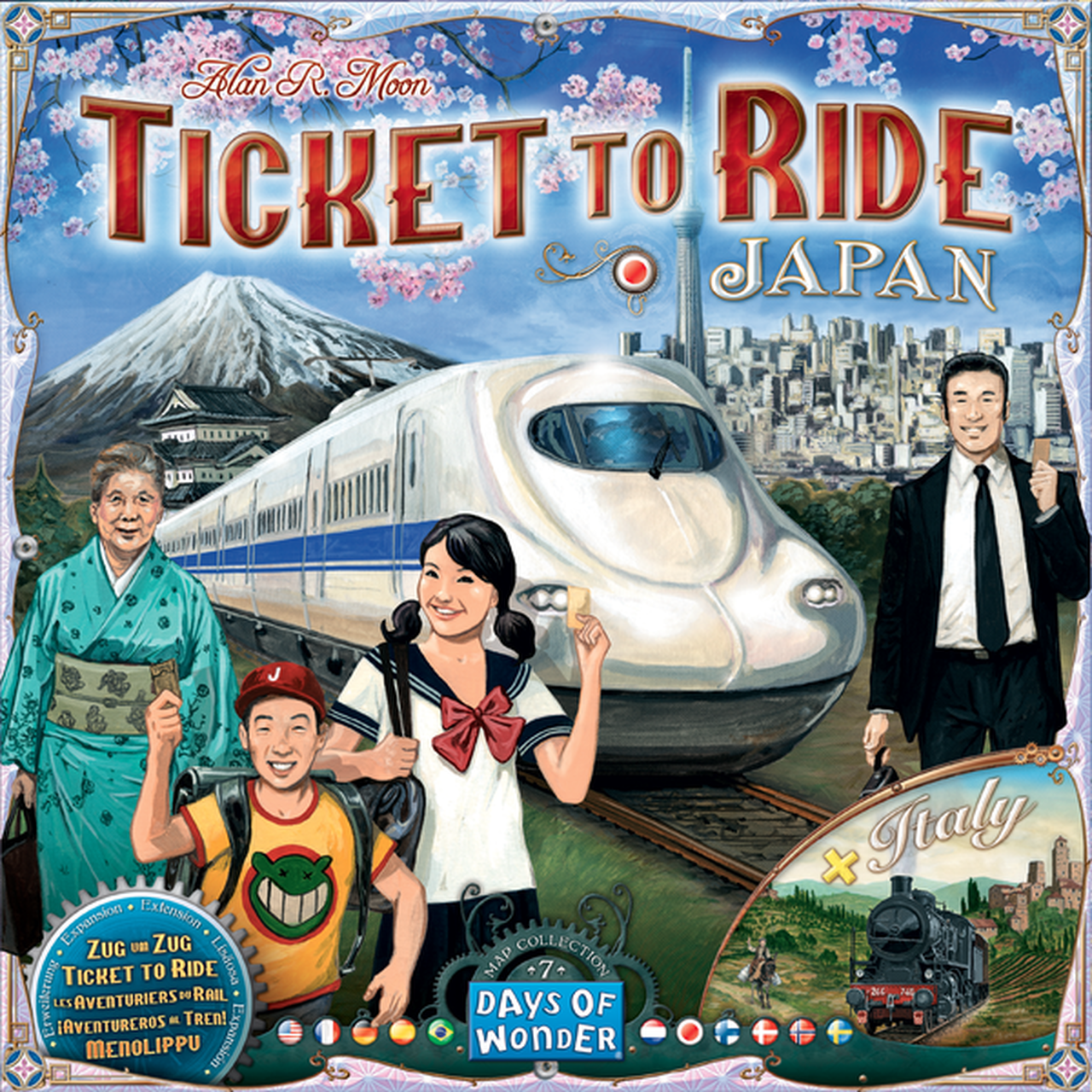 Ticket to Ride: Japan & Italy - Map Collection 7 | Davis Cards & Games