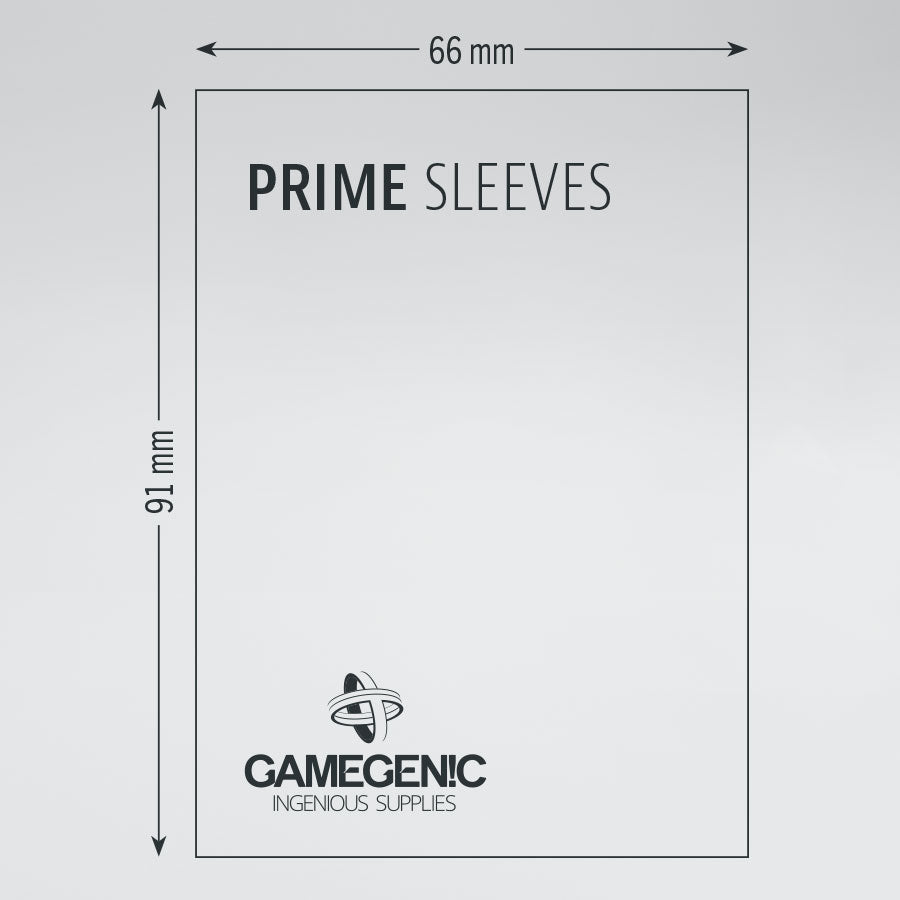 Gamegenic: Prime Double Sleeving Pack: Standard Size | Davis Cards & Games