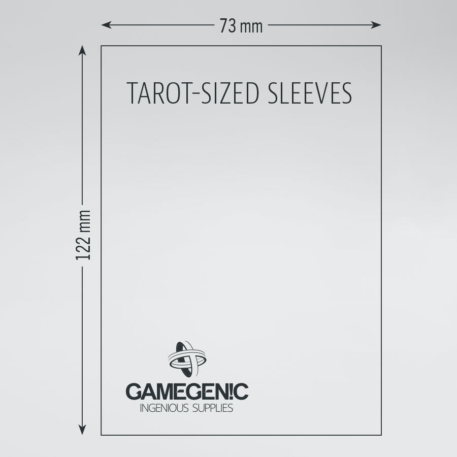 Gamegenic: Matte Board Game Sleeves: Tarot-sized | Davis Cards & Games