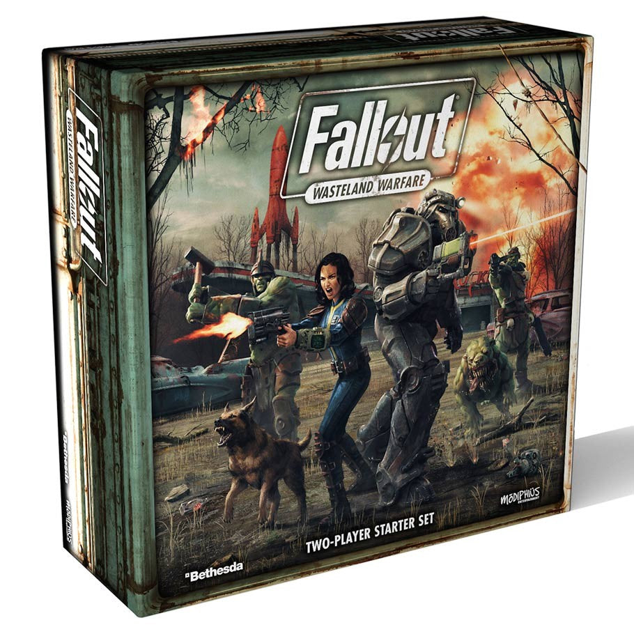 Fallout: Wasteland Warfare: Two-Player Starter Set | Davis Cards & Games