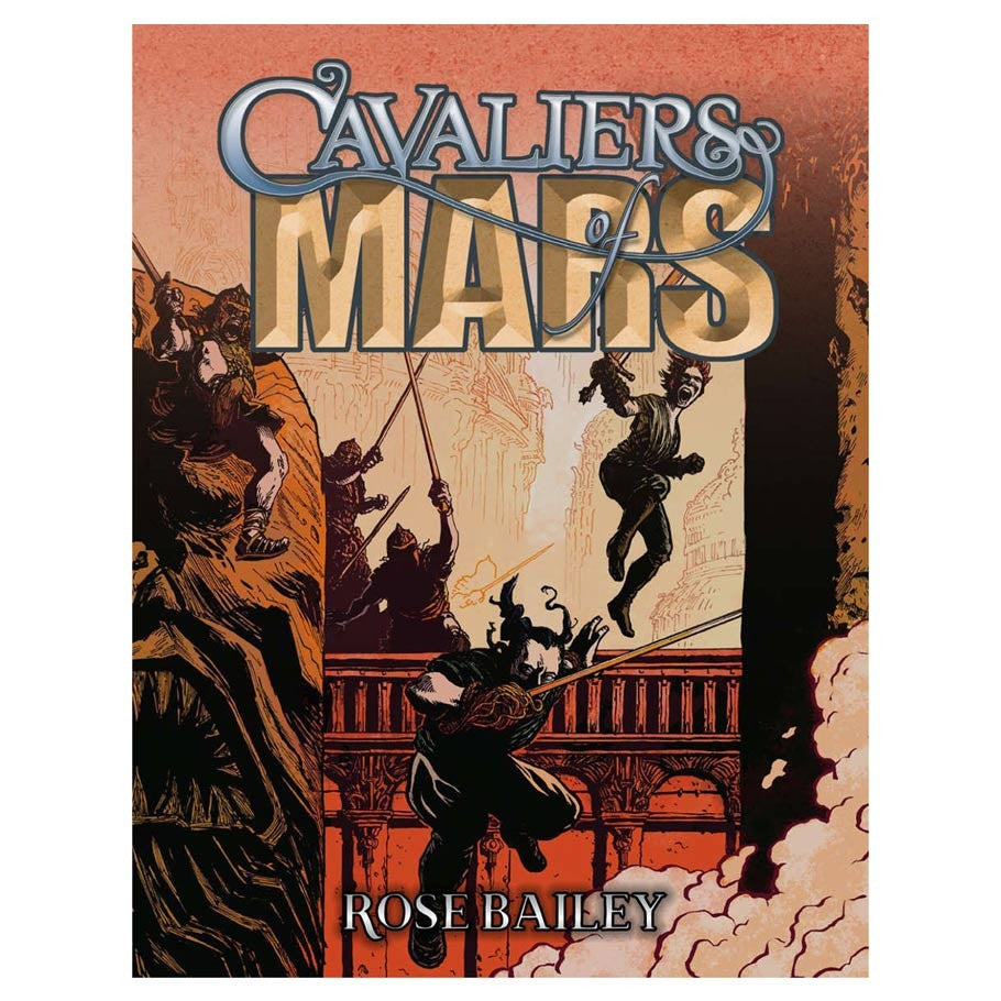 Cavaliers of  Mars Core Rulebook | Davis Cards & Games