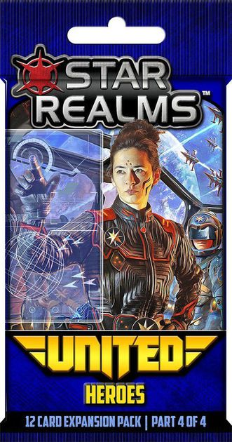 Star Realms: United Heroes | Davis Cards & Games