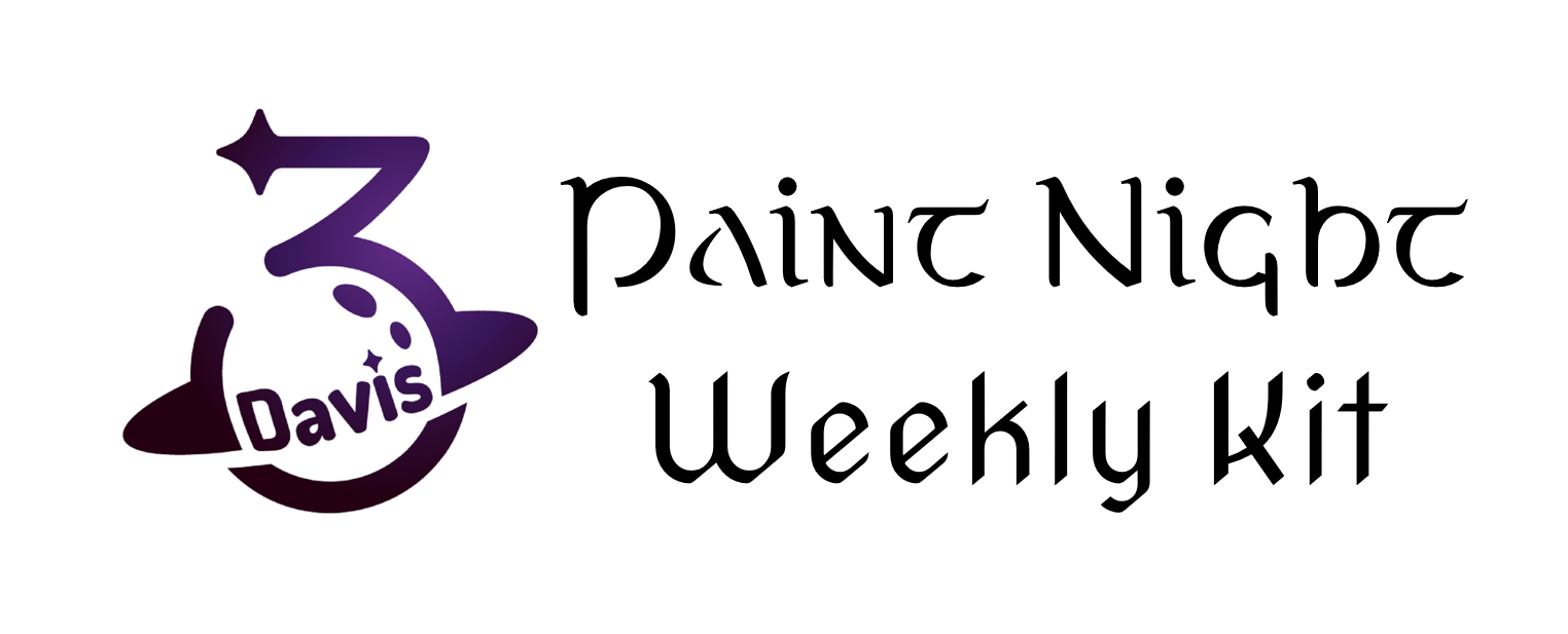 Paint Night Weekly Kit | Davis Cards & Games