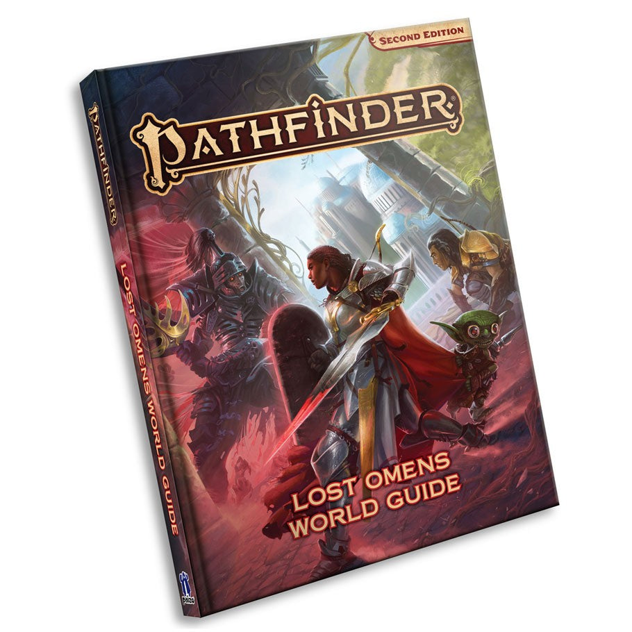 Pathfinder 2nd Ed: Lost Omens: World Guide | Davis Cards & Games