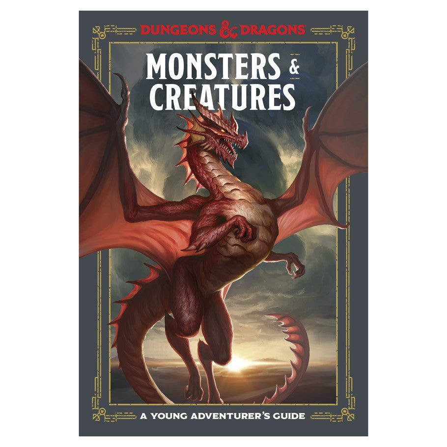Dungeons & Dragons: Monsters & Creatures: A Young Adventurer's Guides | Davis Cards & Games