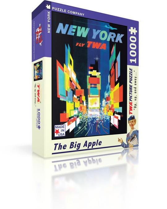 The Big Apple 1000 Piece Puzzle | Davis Cards & Games