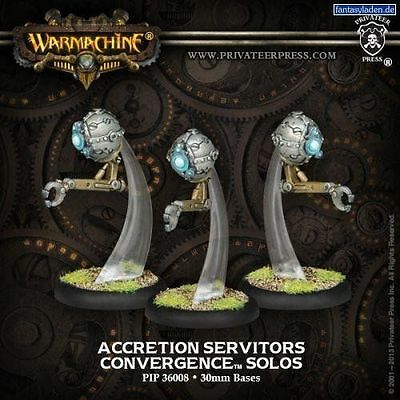 Warmachine: Convergence of Cyriss: Accretion Servitors Solos | Davis Cards & Games