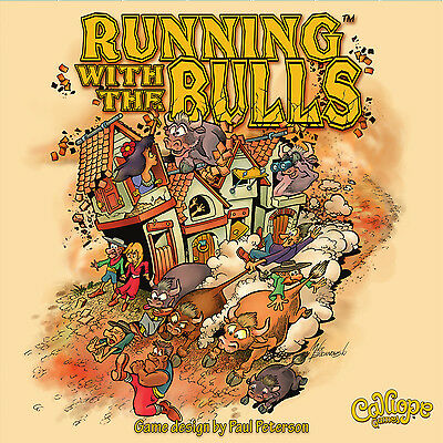 Running with the Bulls | Davis Cards & Games