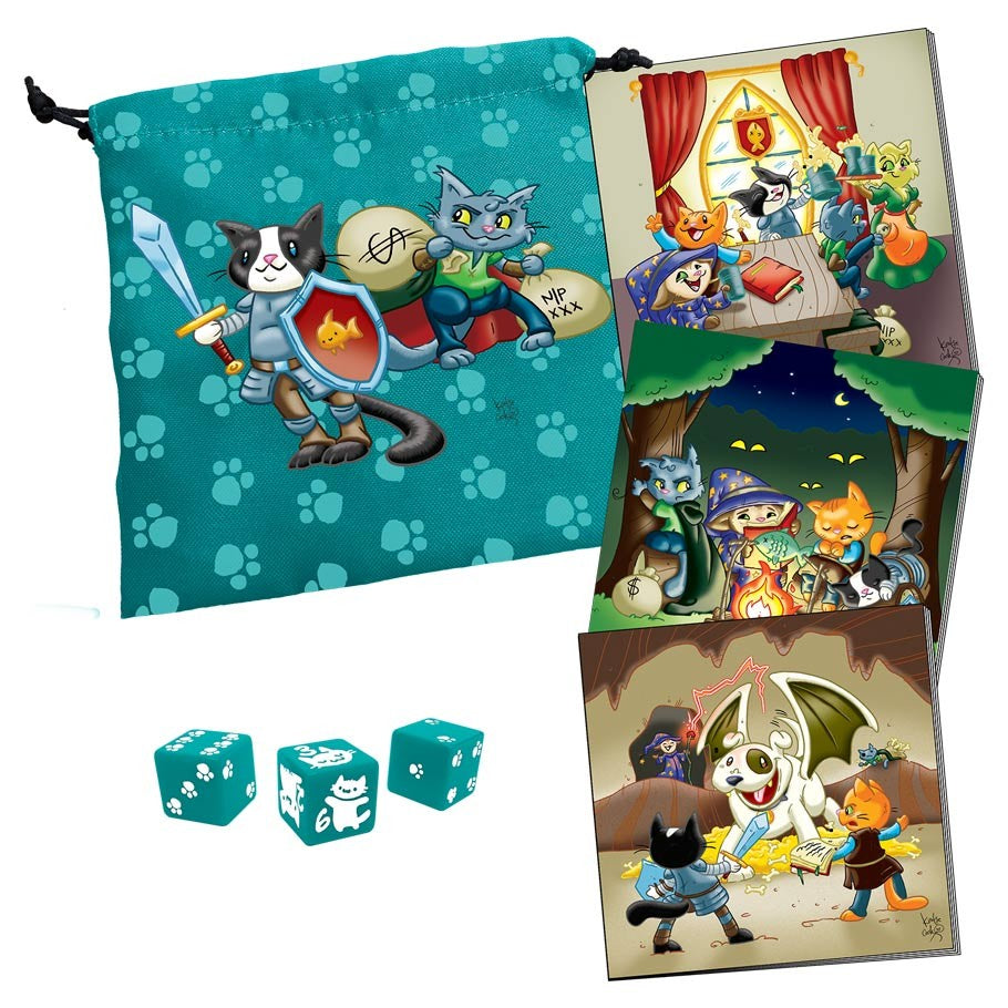 Dungeon Survival Pack: Kitten Adventurers | Davis Cards & Games