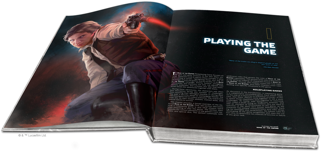 Star Wars Roleplaying: Edge of the Empire Core Rulebook | Davis Cards & Games