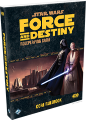 Star Wars Roleplaying: Force and Destiny Core Rulebook | Davis Cards & Games