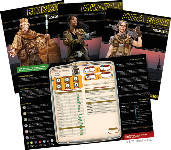 Star Wars Roleplaying: The Force Awakens Beginner Game | Davis Cards & Games