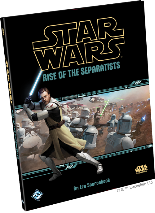 Star Wars Roleplaying: Rise of the Sepratists Era Sourcebook | Davis Cards & Games