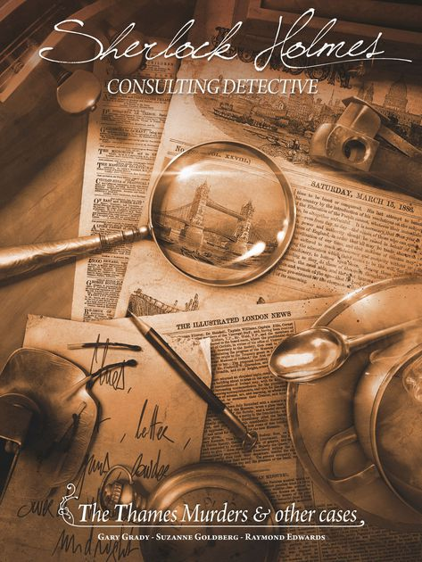 Sherlock Holmes Consulting Detective: The Thames Murders & Other Cases | Davis Cards & Games