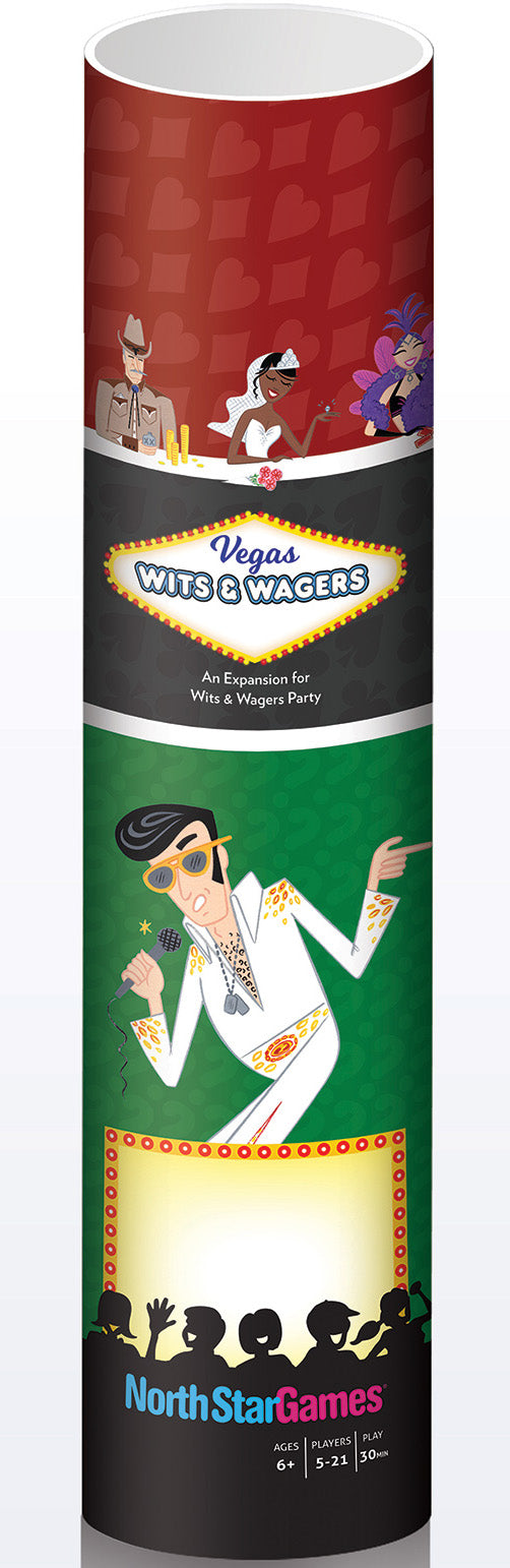 Wits & Wagers: Vegas Expansion Set | Davis Cards & Games