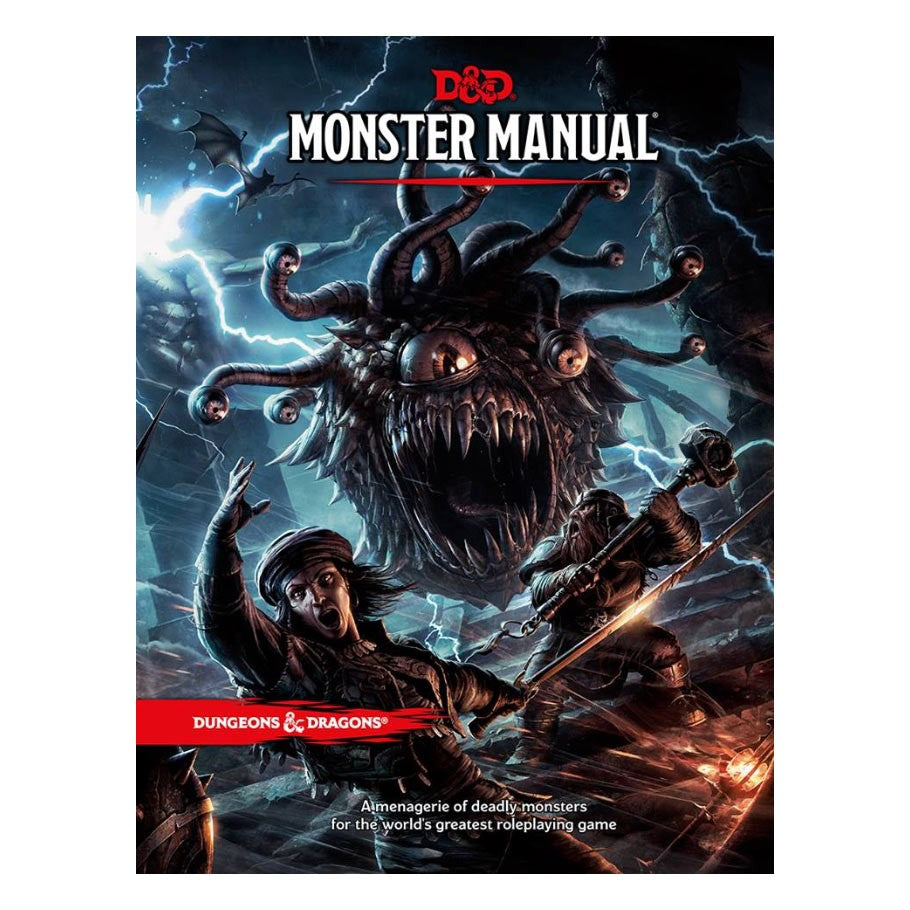 Dungeons & Dragons 5th Ed: Monster Manual | Davis Cards & Games