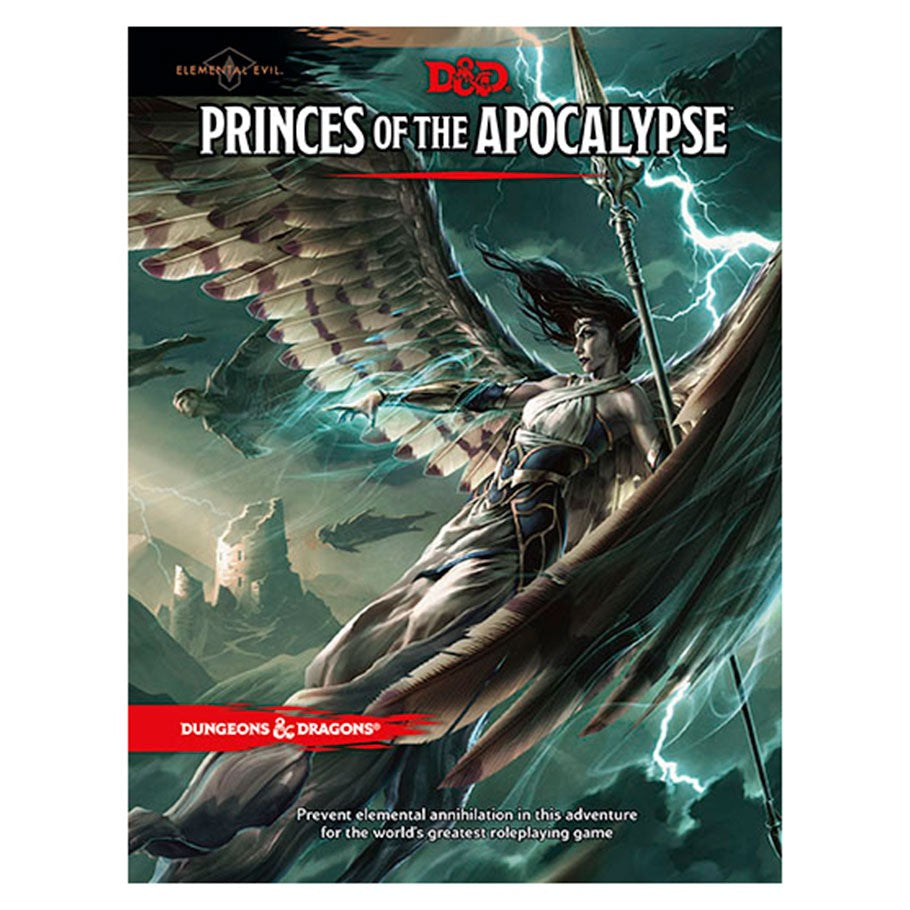 Dungeons & Dragons 5th Ed: Princes of the Apocalypse | Davis Cards & Games