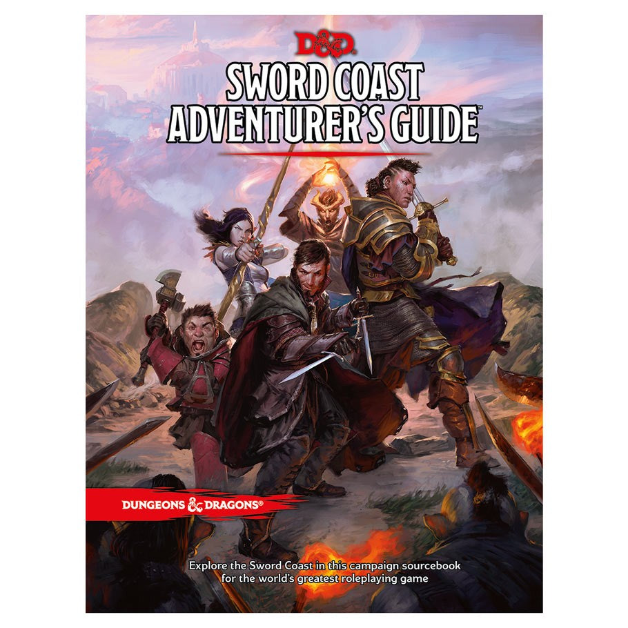 Dungeons & Dragons 5th Ed: D&D 5th: Sword Coast Adventurers Guide | Davis Cards & Games