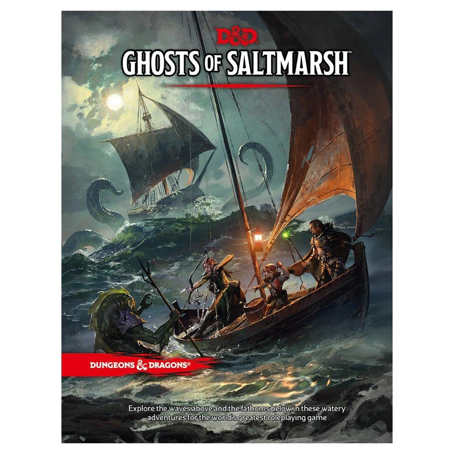 Dungeons & Dragons 5th Ed: Ghosts of Saltmarsh | Davis Cards & Games