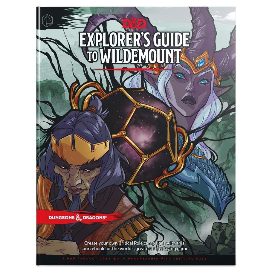 Dungeons & Dragons 5th Ed: D&D 5th: Explorer's Guide to Wildemount | Davis Cards & Games