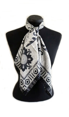 'Dome Silk' Scarf