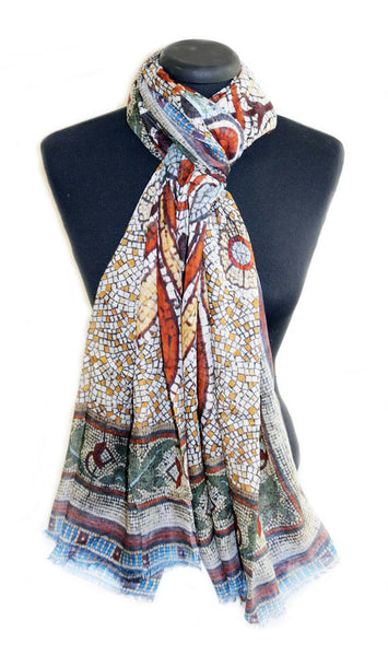 Elizabeth Original LARGE rectangular Modal Scarf 200cm x 90cm - The Block Collection