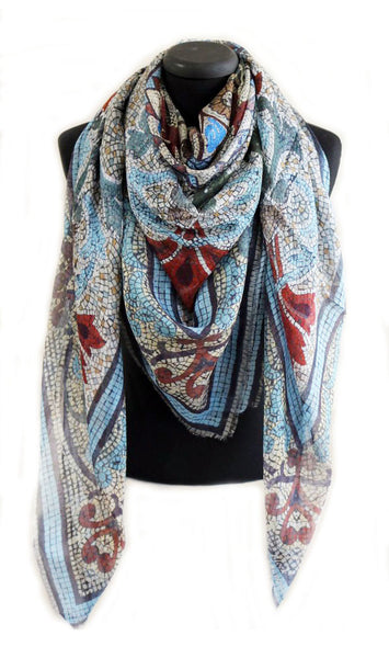 'Collins' Original  LARGE  Modal Scarf 140 x 140