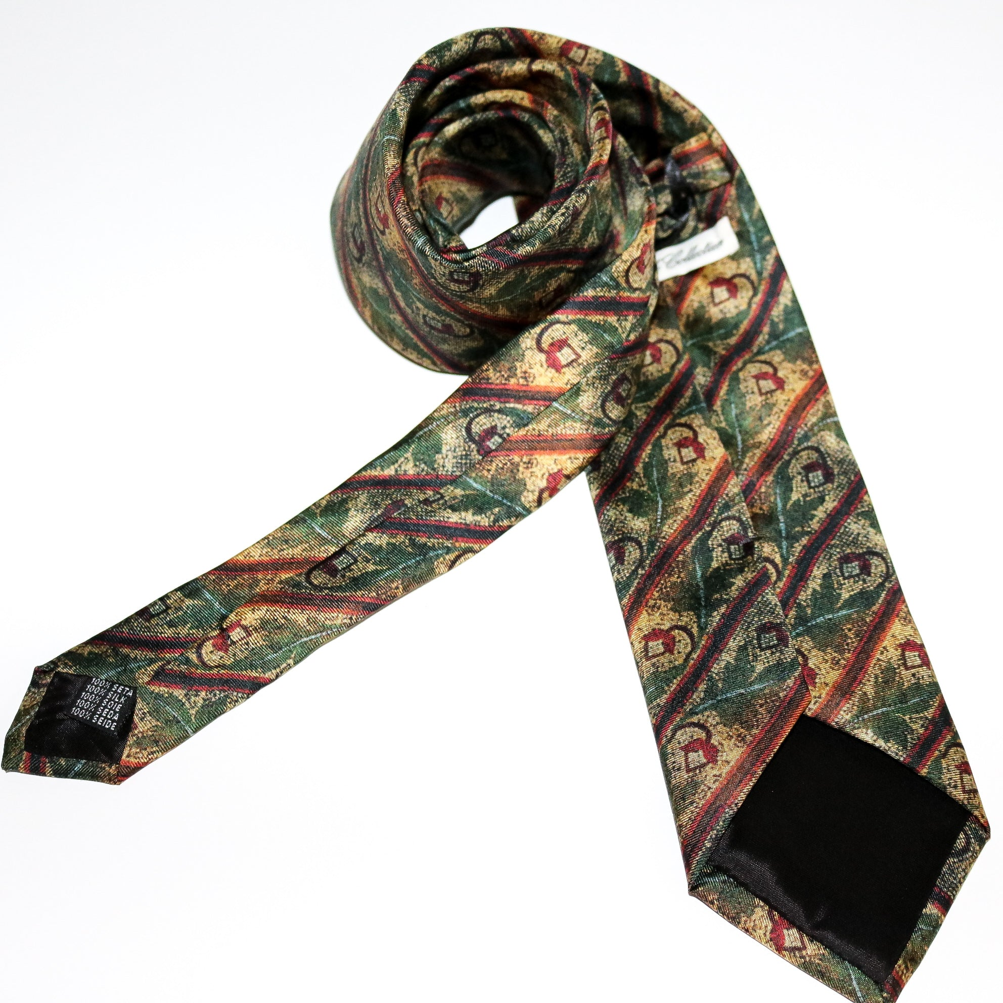 Tie Acorn 100% silk tie - The Block Collection