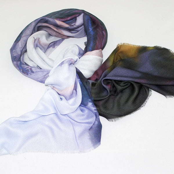 Taj love LARGE scarf Cashmere & Modal  140cm X 140cm - The Block Collection