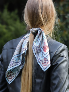 'Original Collins' Mini Silk Scarf