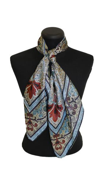 'Original Collins' CLASSIC Silk Scarf 90cm x 90cm - The Block Collection