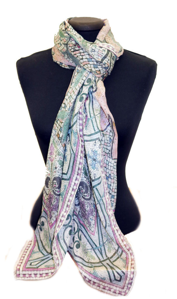 'The Block Pastel' Modal Scarf