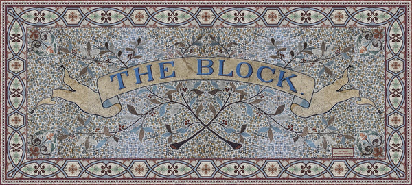 The Block Original LARGE rectangular Modal Scarf 200cm x 90cm - The Block Collection